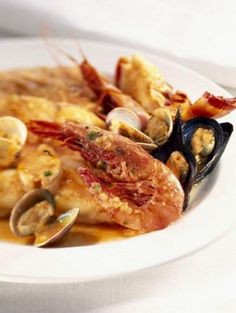 La Zarzuela - Spanish dish with seafood