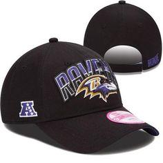 d67c10296d8 New Era Baltimore Ravens Ladies 2013 NFL Draft 9FORTY Adjustable Hat - Black  Nfl Gear