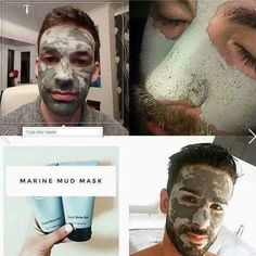 Not just for womans.Clean your face from dirt,oil and many more with 50 benefical ingridiens Epoch Mud Mask, Marine Mud Mask, Glacial Marine Mud, Dead Skin, Face And Body, Just For You, Skin Care, Beauty Skin, Nu Skin Mud Mask