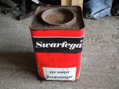 Dad always had a tin of Swarfega in the shed