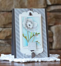 All My Love Card by Amy Sheffer for Papertrey Ink (October 2015)