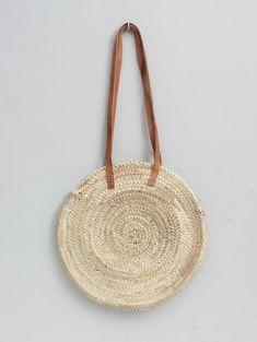 Sienna Handwoven Tan Shopper Basket   Bohemia Design