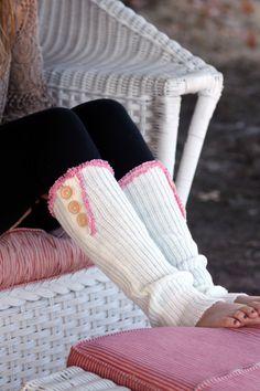 lace Legwarmers -Country Fashion,