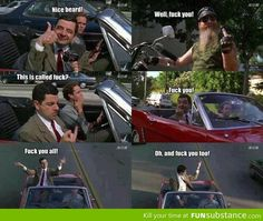 Mr Bean at his finest