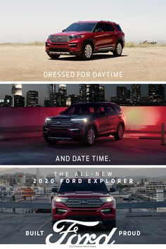 Dressed for daytime and date time. Electric Skillet Recipes, Breakfast Strata, 2020 Ford Explorer, Victoria Police, Cast Iron Recipes, Cast Iron Cooking, 2019 Ford, Cool Inventions, Ford Motor Company
