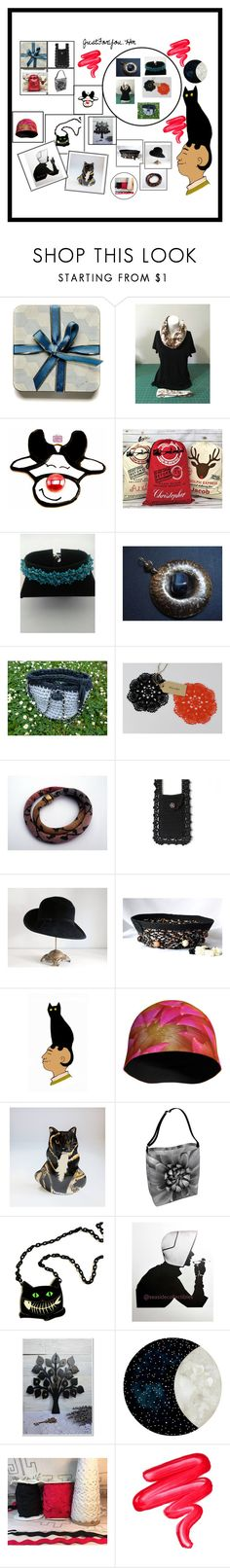 """Gifts by Etsy"" by justforyouhm ❤ liked on Polyvore featuring Helen Kaminski and Lime Crime"