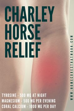 charley horse during sex