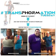 It's #Transphormation Tuesday and we have 2 amazing ones for you once again! Instagram user @sm12206 is down a total of 155lbs in 3 years and @sandman58s is lost 110lbs in 2 years!!! Congratulations to the both of you! Truly amazing and inspiring! Show them some love #LegionofBoom! #neversettle
