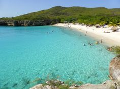 I am dreaming of a white ........ sand beach   (Grote Knip, Curaçao)
