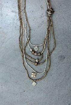 Raven   Lily - Azana: Long Charm necklace