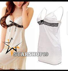 c0e251f00ea Sexy Women Lingerie Lady Underwear Lace Night Dress White Babydoll  Sleepwear  fashion  clothing  shoes  accessories  womensclothing   intimatessleep (ebay .
