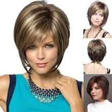Short Hairstyles For Thick Hair, Hairstyles Over 50, Casual Hairstyles, Pretty Hairstyles, Wig Hairstyles, Short Bob Wigs, Short Straight Hair, Wig Bob, Short Bangs