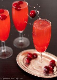 Cranberry Sparkler Mocktail | Cupcakes & Kale Chips 2012