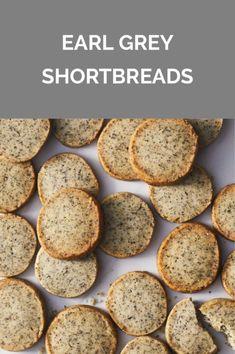Get the recipe for Earl Grey Shortbreads. Tea Recipes, Sweet Recipes, Cookie Recipes, Dessert Recipes, Dessert Food, No Bake Desserts, Just Desserts, Delicious Desserts, Vegan Desserts