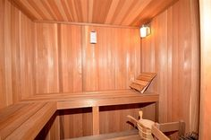 A in home personal dry sauna, how fantastic!