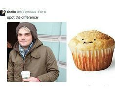 I see no differences here>>> Gee is a happy little muffin <3
