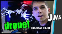 Review e Vôo com o Drone CX 33 Banggood China - YouTube