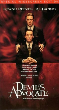 Devils Advocate (Widescreen Edition) [VHS]  ~ Keanu Reeves