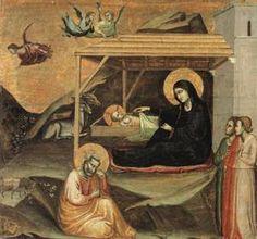 Nativity by Taddeo Gaddi