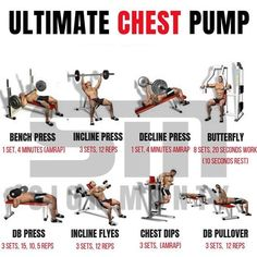 Gym chest workout Ultimate chest workout Chest workout routine Chest workouts Gym workouts Chest day workout - Check out the best Dianabol pills and tablets with DHEA and other ingredients for qu - Ultimate Chest Workout, Chest Workout For Men, Workout Routine For Men, Gym Workout Tips, Pilates Workout, Workout Fitness, Gym Tips, Chest And Shoulder Workout, Gym Workouts For Men