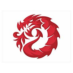 Dragon Mark by Von Glitschka @vglitschka by logoinspirations