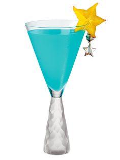 Azure Sangria - blue cocktail