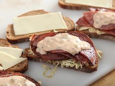 Pork Roll and Coleslaw Rachels - the sister sandwich of the Reuben - Serious Eats Recipe