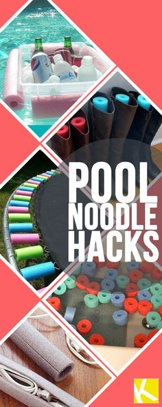 10 Ridiculously Amazing Ways to Repurpose a Pool Noodle