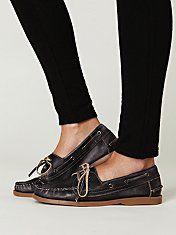 Bed Stu Handwashed Boatshoe #freepeople #shoes