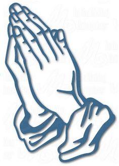 Dee's Distinctively Dies - Praying Hands