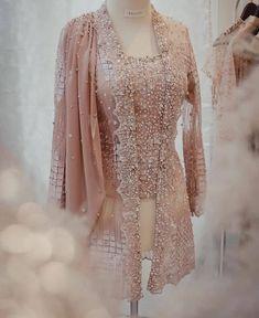 Kebaya Lace, Kebaya Hijab, Batik Kebaya, Kebaya Muslim, Batik Dress, Model Dress Kebaya, Kebaya Modern Dress, Kebaya Wedding, Muslimah Wedding Dress