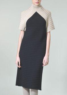 Яндекс.Фотки minmalist en trend fashion knit dress inspiration