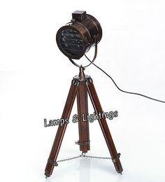 Fresh Cordless LED Floor Lamp Reading Light Shade Modern Floor Lamp With Tripod Lamp