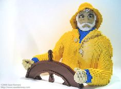 Surprising Lego Art - Fun For All Ages    ---  from InventorSpot.com --- for the coolest new products and wackiest inventions.