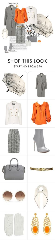 """""""Image Kollection Outfits"""" by imagekollection on Polyvore featuring River Island, Balmain, Yves Saint Laurent, Alexander McQueen, Casadei, Givenchy, Chanel, Chloé, Loro Piana and Valentino"""