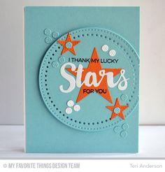 Lucky Stars card by Teri