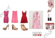 """""""Same Coat Different Dress"""" by pita81 on Polyvore"""