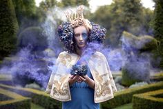 Kirsty Mitchell - Wonderland collection - http://www.kirstymitchellphotography.com/collection.php?album=5  ... and there's an amazing story of love, loss, and inspiration!