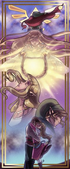 Skyward Sword: The Goddess and The Hero by TiuanaRui