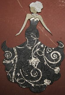 Oh, Scrapulous!!: tutorial - Double embossed Chipboard