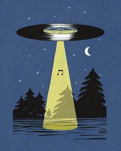 Day 39: Music Abduction by ILoveDoodle, via Flickr