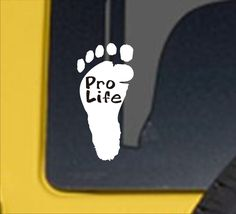 Excited to share this item from my #etsy shop: Pro Life vinyl decal, pro life sticker, pro life vinyl sticker, pro life car decal, pro life, pro life window decal, pro life advocate Window Decals, Car Decals, Vinyl Decals, Motorcycle Decals, Types Of Organisation, Life Car, Life Is Precious, Auto Glass, Pro Life