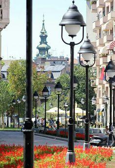 Belgrade Serbia, Street Lamp, Serbian, Eastern Europe, Germany, World, Modern, Lamps, Photography