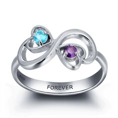 Post Included to most locations Worldwide! >>> Forever Love Infinity Ring - 925 Sterling Silver