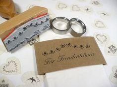 Stempel für die Freudentränen der Hochzeitsgäste