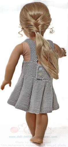 Modele tricot pour poupee