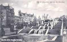 Mont des Arts (1910-1920) #brussel #bruxelles #brussels