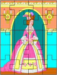 Prinses puzzel / FREE Printable Jigsaw Puzzle Princes