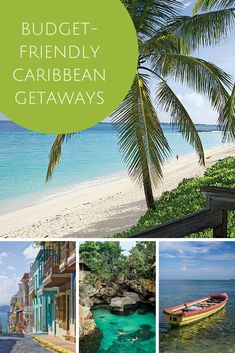 Budget-Friendly Caribbean Getaways | Escape winter with a sun-drenched trip even farther south—and just because it's high season doesn't mean you have to break the bank