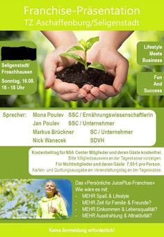 Juice Plus - Mitte Westen - Center Kassel: Business meets Lifestyle - Ihre Arbeitsplatzsicher...